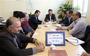 جلسه کمیته استانی راه اندازی پایگاه های انتخاب رشته کنکور دانش آموزان سال 98