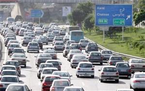 ترافیک در محور چالوس
