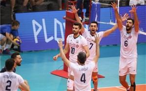 لیگ ملتهای والیبال؛ ایران با صدرنشینی جشن صعود گرفت