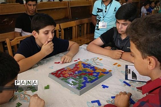 دومین دوره المپیاد کشوری بازی های فکری سرگرمی دانشآموزان پسر در شیراز