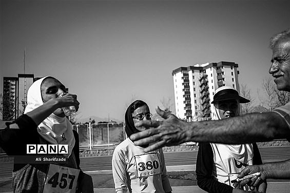 مسابقات دوومیدانی بانوان جانبازان و معلولین