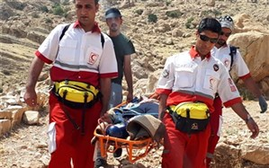 امدادگران کازرون گردشگر خارجی را نجات دادند