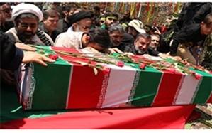 تشییع پیکر شهید گمنام 17 ساله در دانشگاه فرهنگیان قم