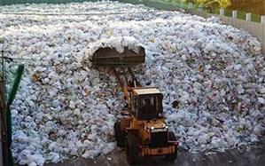 سرانه تولید زباله در اهواز بیش از ۲.۵ برابر استاندارد جهانی است