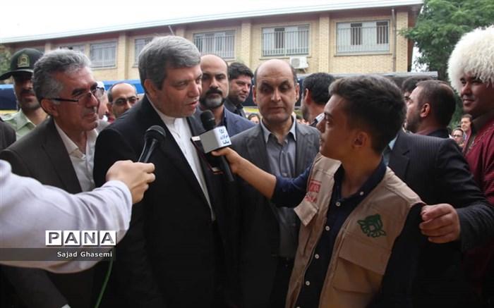 سفر سرپرست وزارت آموزش و پرورش به استان گستان