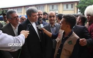 حسینی: ۱۰ مدرسه نوساز در مناطق سیلزده گلستان تا اول مهر تحویل میشود