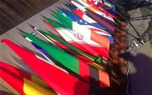 جابجایی پرچم ایران و اسرائیل در اجلاس توسعه نظام پارلمانی در مسکو+ عکس