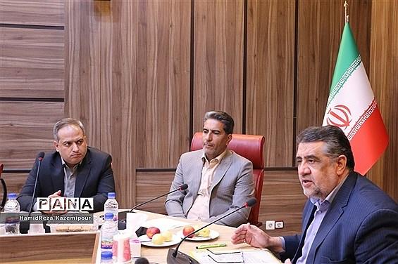 نشست شورای معاونان ادارهکل و روسای ادارات آموزش و پرورش شهرستانهای استان تهران