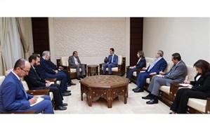 دیدار دستیار وزیر امور خارجه با بشار اسد