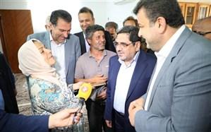 نخستین واحد مسکونی احداثی سیل زدگان مازندران تحویل داده شد