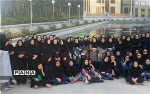 دانشآموزان فرزانگان به اردوی اصفهان رفتند