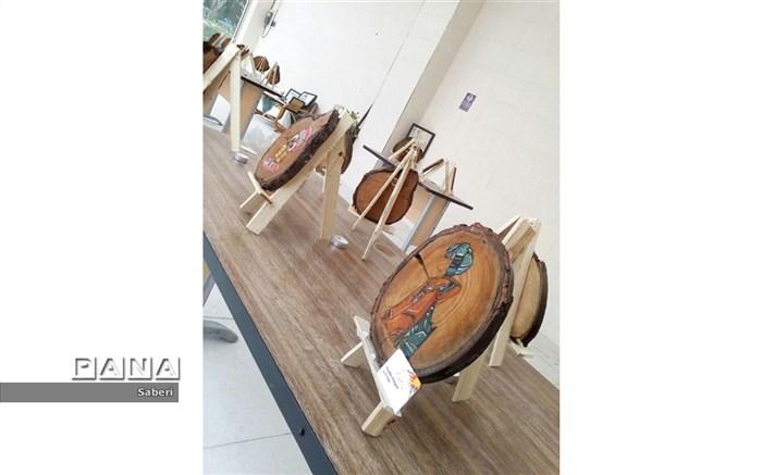 نمایشگاه با طعم چوب  وهنر
