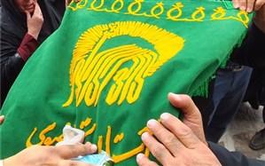 تقویت وحدت حول محور پرچم منور رضوی در زیرکوه