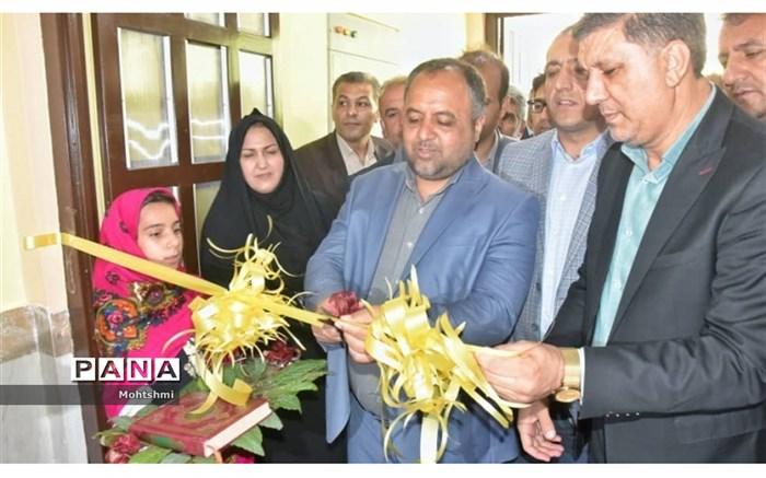 افتتاح دبستان 6 کلاسه روستای اسفیدان