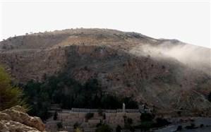 سایه سنگ60 تنی از سر دروازه قرآن شیراز رخت بربست