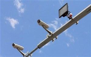 کاهش شدید حوادث و تخلفات با نصب دوربینهای ثبت سرعت در بلوار آیتالله بروجردی