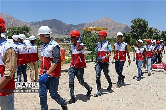 المپیاد دانشآموزی هلال احمر در یزد