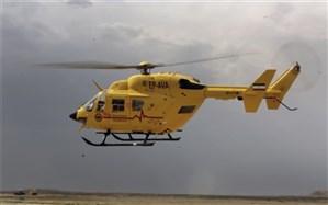 ۱۱ ماموریت اورژانس هوایی  البرز در هفته گذشته انجام شد