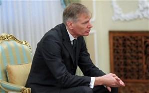 سومین حضور سفیر بریتانیا در ارتباط با نفتکش ایرانی در وزارت امور خارجه + عکس