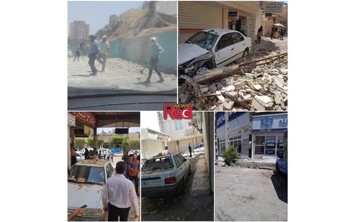 زلزله مسجدسلیمان