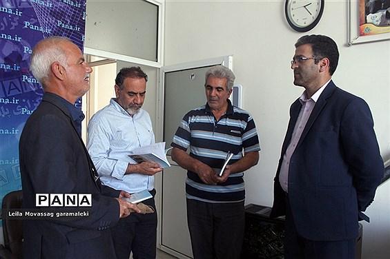 حضور مدیر سازمان دانشآموزی استان خوزستان در سازمان آذربایجان شرقی