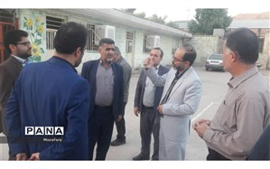 بازدید سرپرست اداره کل آموزش و پرورش خوزستان از مدارس مسجدسلیمان پس از زلزله