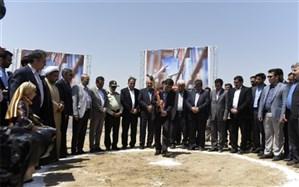 ساخت کتابخانه مرکزی  استان البرز آغاز  شد