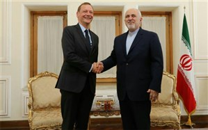 دیدار مشاور مکرون و ظریف در تهران