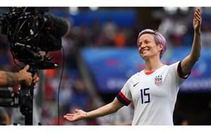ادامه جنگ کلامی کاپیتان تیم ملی فوتبال زنان آمریکا و «ترامپ»