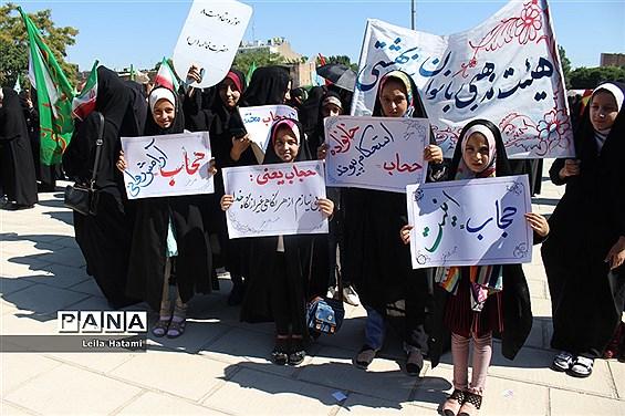 اجتماع بزرگ مردمی حجاب و عفاف در تبریز