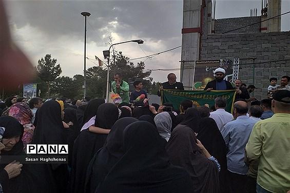 حضور خادمان آستان قدس رضوی در اسلامشهر