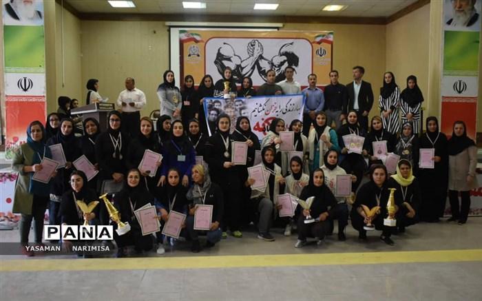 مسابقات مچ اندازی استان بخش بانوان در شهرستان امیدیه