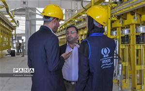 بزرگترین کارخانه آلومینیوم خاورمیانه در لامِرد