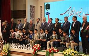 برگزاری اختتامیه مرحله استانی پنجمین جشنواره نوجوان خوارزمی در مشهد