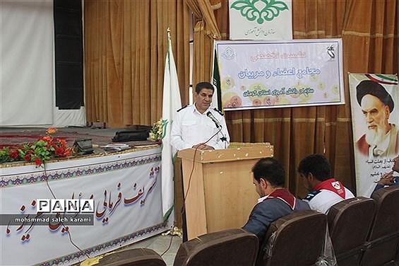 نشست تخصصی مجامع اعضا و مربیان سازمان دانش آموزی استان کرمان