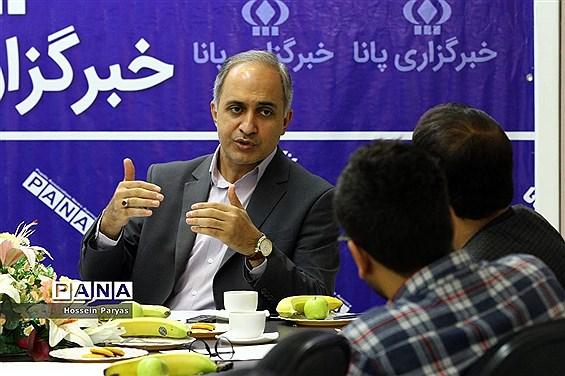 بازدید رئیس فدراسیون ورزش دانشآموزی از خبرگزاری پانا