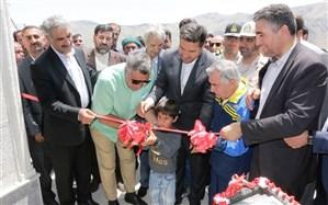 افتتاح مدرسه خیرساز در روستای مرزی دلزی سلماس