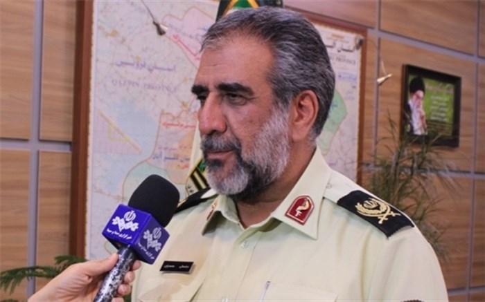 فرمانده انتظامی استان البزتان البرز