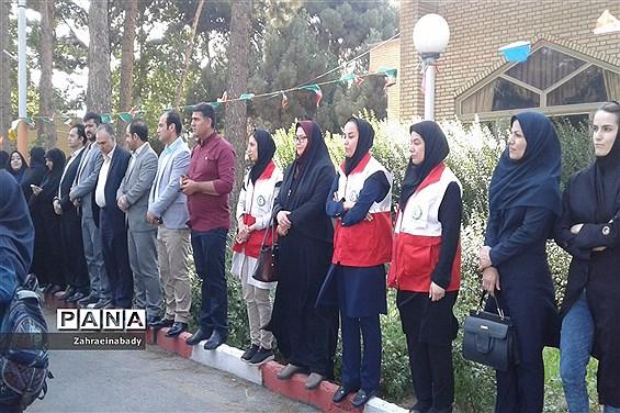 بازدید فرماندار شهرستان ملارد از اردوگاه شهید منتظری شهریار