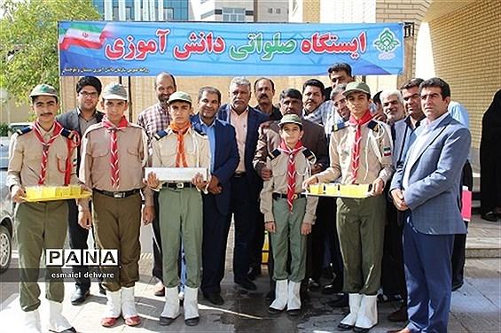 برپایی ایستگاه صلواتی دانشآموزی به مناسبت میلاد امام رضا(ع)