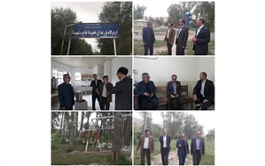 بازدید مدیر سازمان دانش آموزی اردبیل از اردوگاه فرزندان امام خمینی (ره) شهرستان نیر
