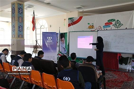 کلاس آموزشی خبرگزاری پانا در اردوی استانی پیشتازان فارس