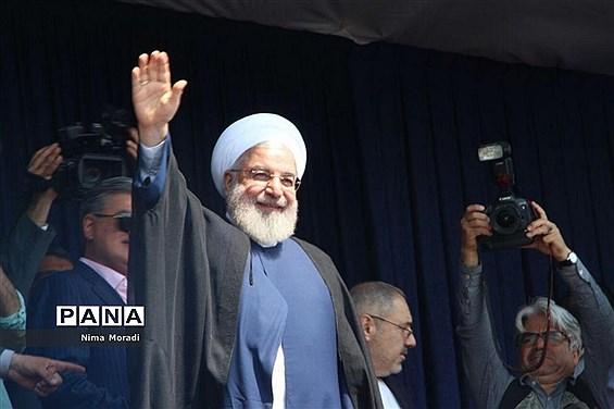 استقبال مردم خراسان شمالی از رئیس جمهوری