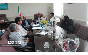نشست مدیران مدارس استثنائی شهرستان میناب