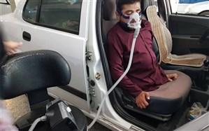 خرید دستگاه تنفسی برای بیمار نیازمند از سوی مرکز ارتباطات مردمی ریاستجمهوری+ تصاویر