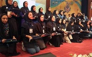 هنرجوی آذربایجان شرقی مقام اول سیزدهمین جشنواره مهارت های هنری شاخه کار دانش کشور را کسب کرد