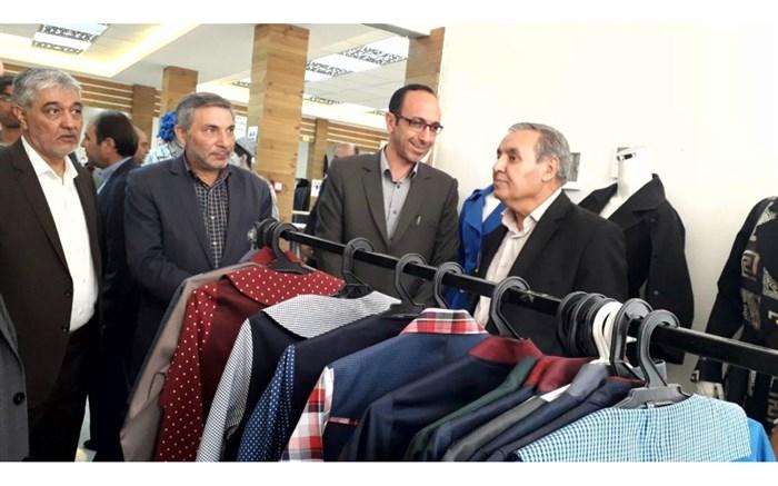نمایشگاه توانمندی های تولیدات و طراحی پوشاک استان در اردبیل