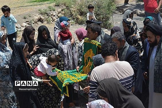 حضور دومین گروه کاروان خدام رضوی در شهرستان طبس استان خراسان جنوبی