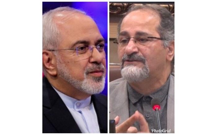 ظریف انتصاب وردینژاد به عنوان معاون سیاسی دفتر رئیس جمهور را تبریک گفت
