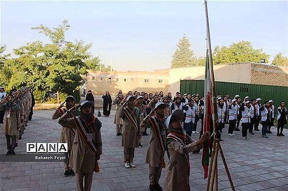 جشنواره استانی مهارتهای تشکیلاتی پیشتازان دخترسازمان دانشآموزی آذربایجان غربی در ارومیه
